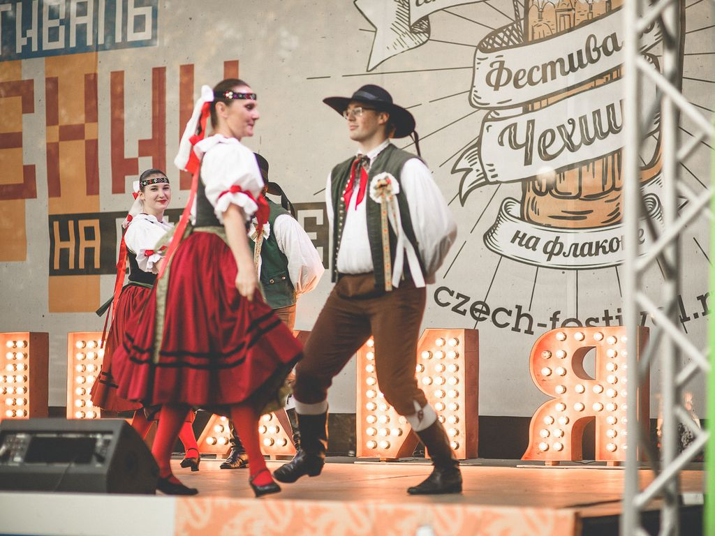 Спектакль на Фестиваль Чехии в Москве