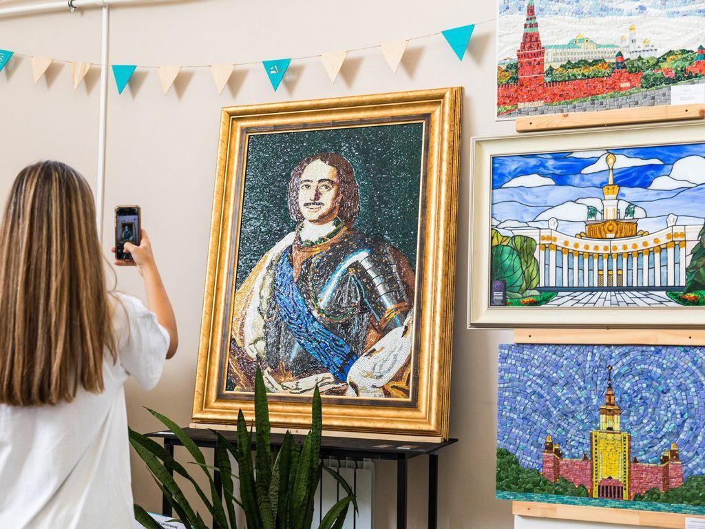 Выставка на Фестивале Стекла