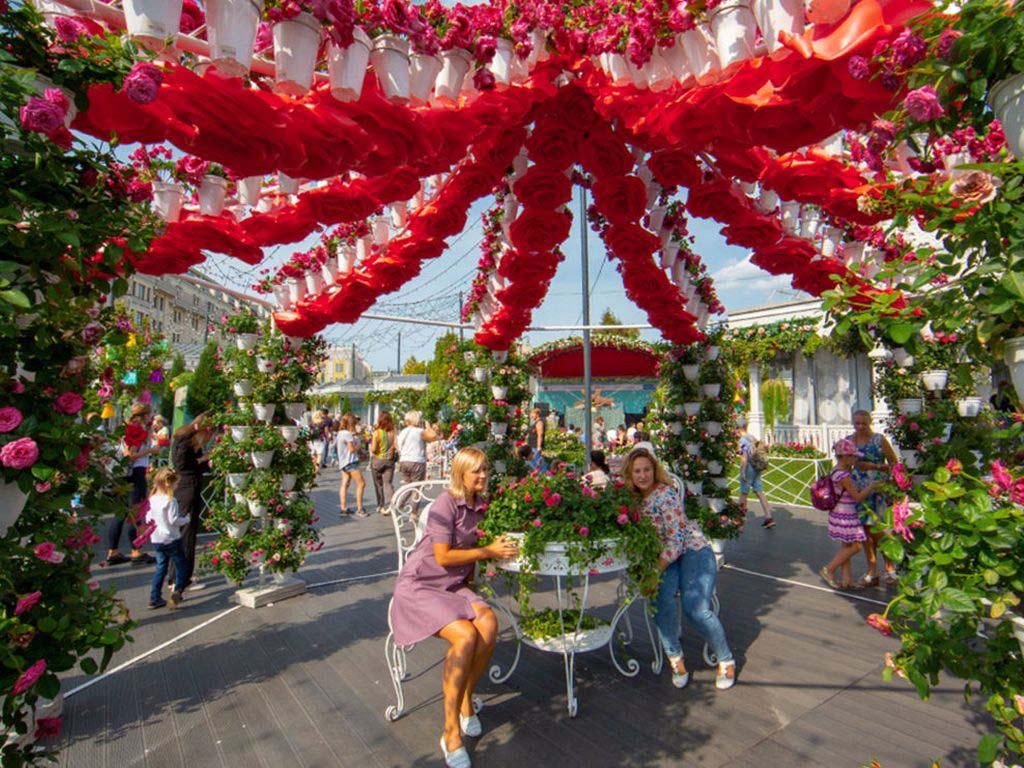 Ярмарка фестиваль цветочный джем