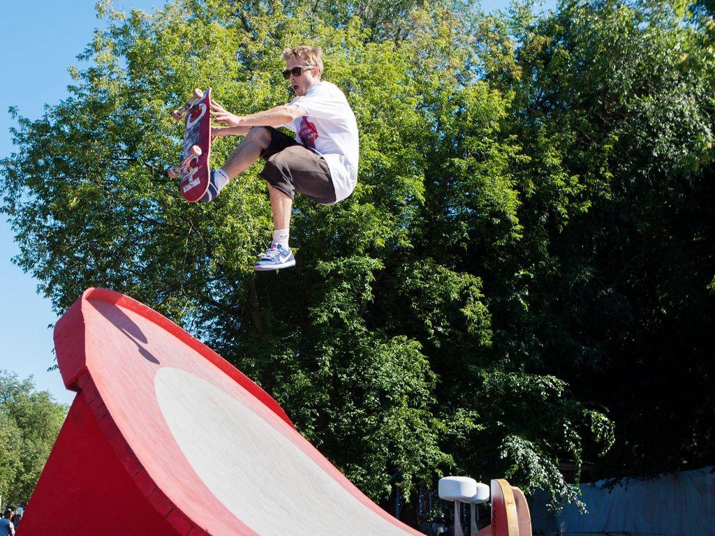 скейтбординг на фестивале Ритм Моего Города