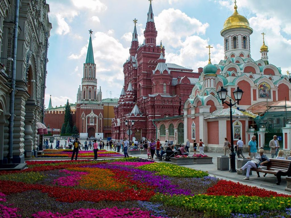 Москва экскурсионная