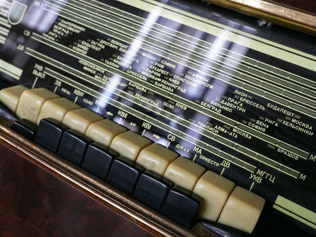 Радио 60–70-х годов на ВДНХ