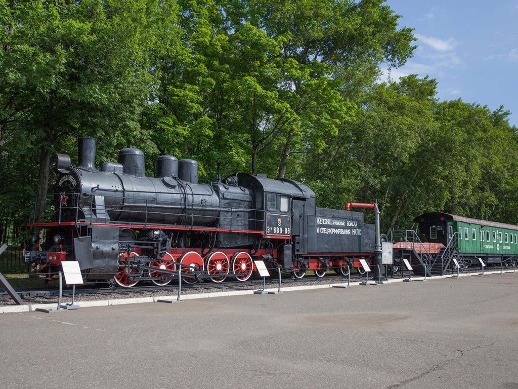 Музей победы восстановление Железнодорожной техники