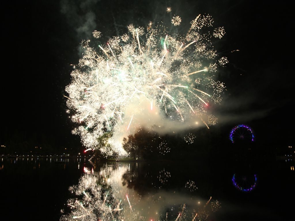 День города в Измайловском парке: праздничный салют