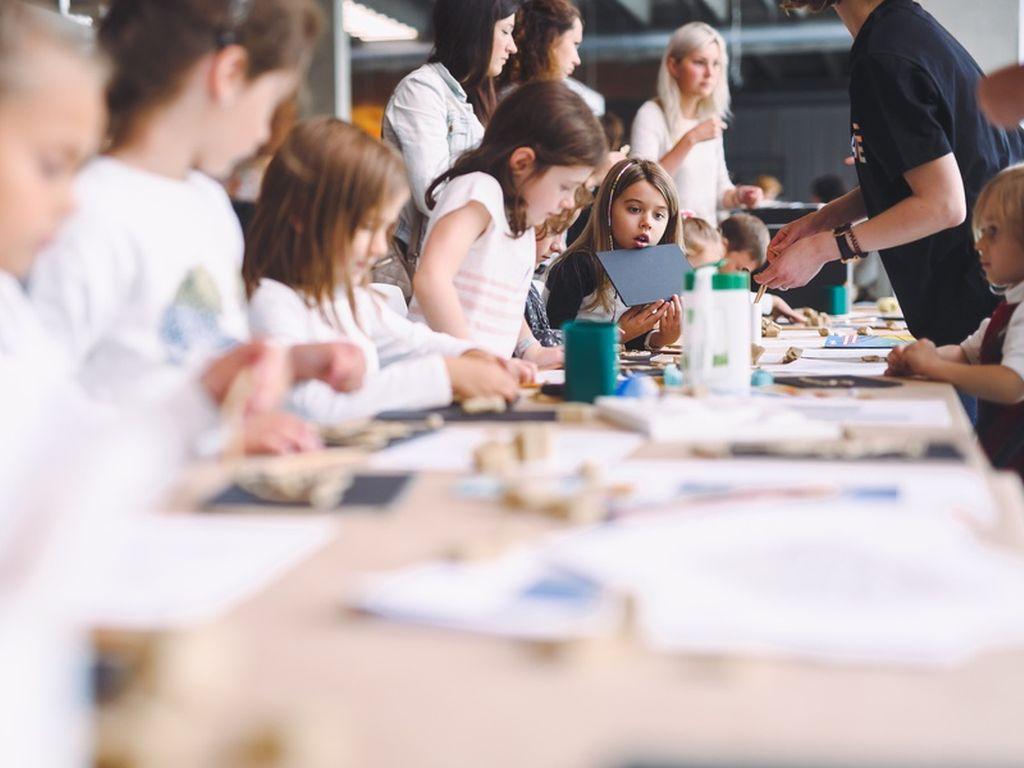 Курсы по искусству для детей в Музее современного искусства Гараж