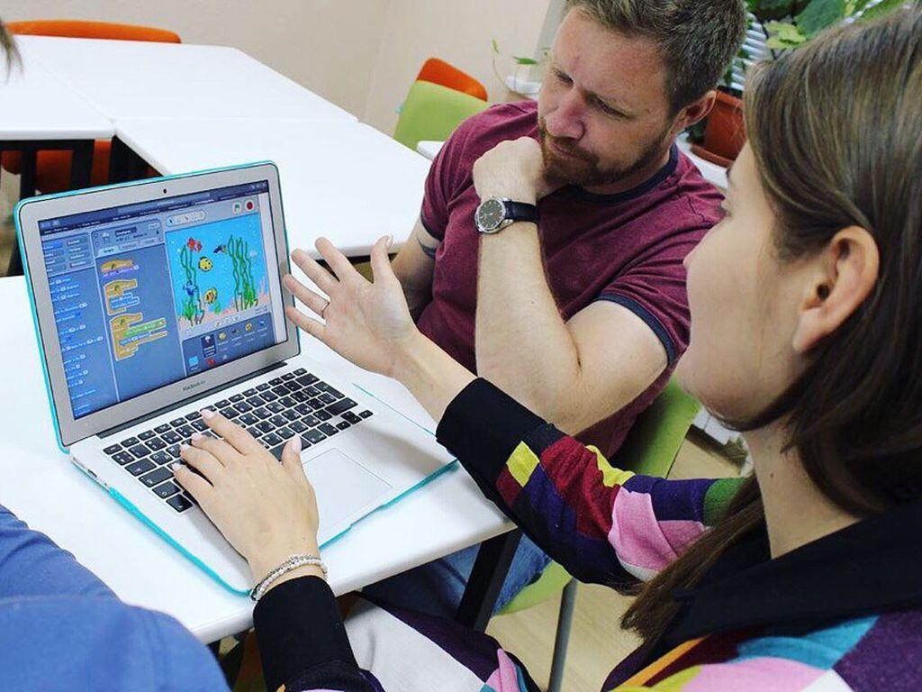 Мастер-классы по программированию для детей в парке