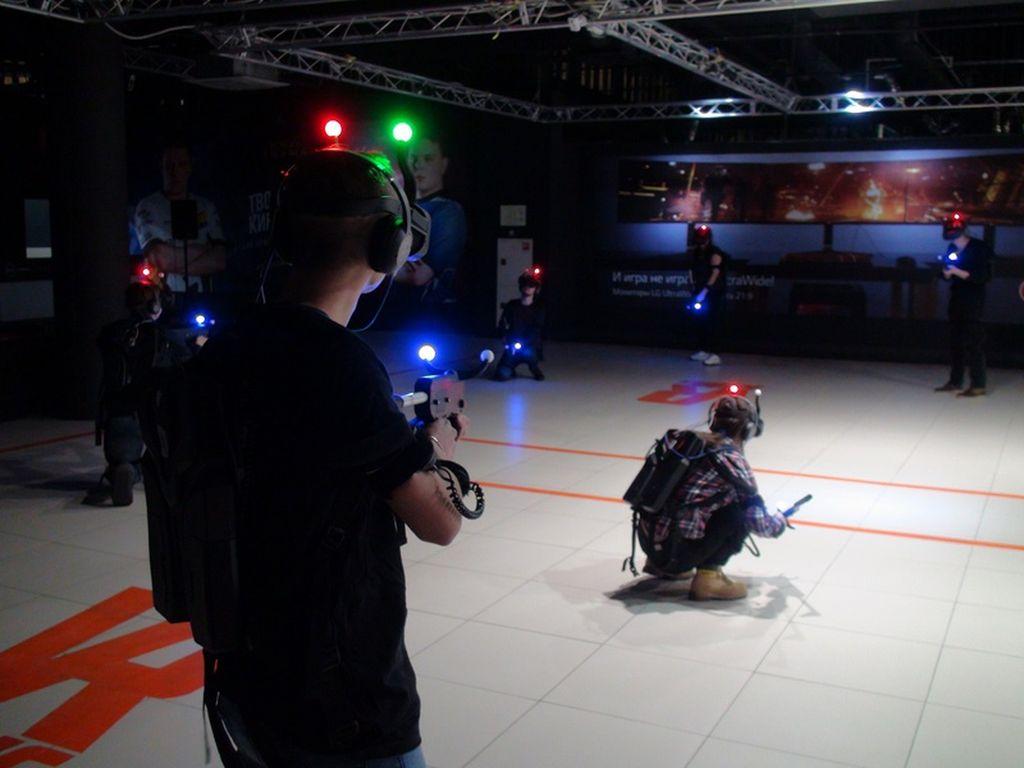 Новая VR-арена VR-RING развлечения на 7-8 сентября