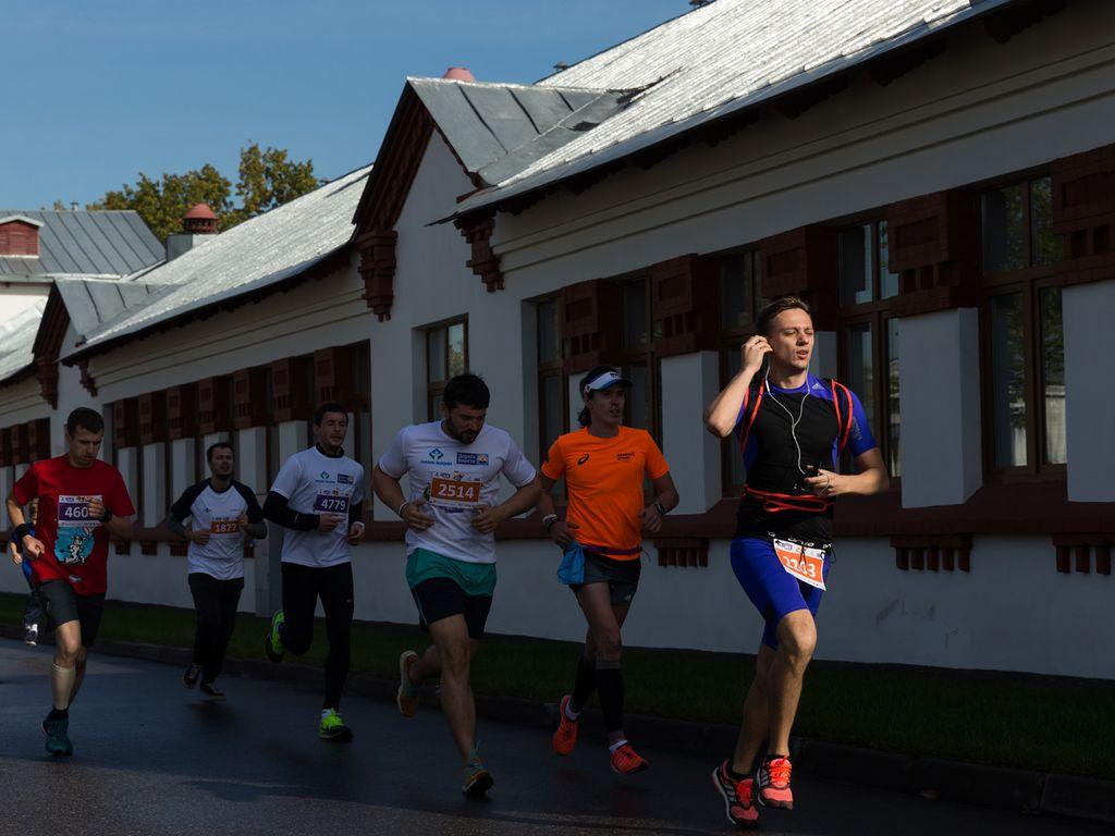 Благотворительный забег  в Москве