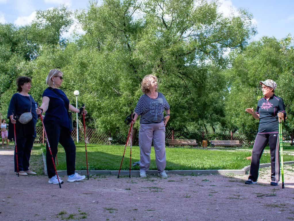 Скандинавская ходьба в Воронцово