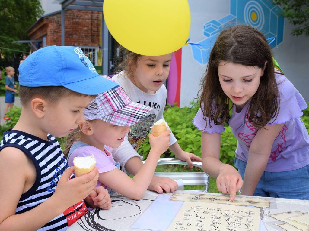 Фестиваль в Детском парке им. Прямикова.