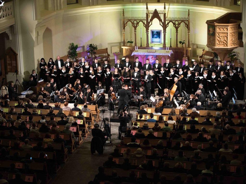 ночной концерт Моцарт. Реквием