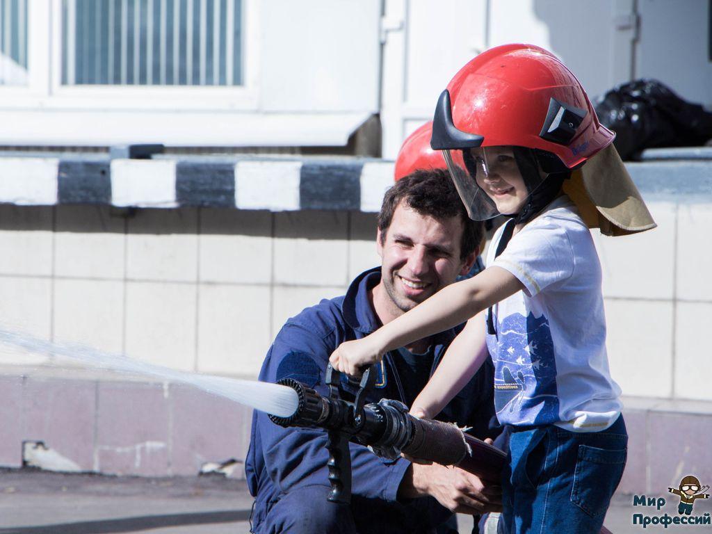 Действующий пожарник в Мире Профессий