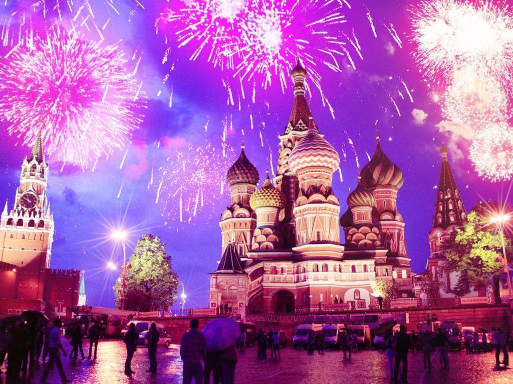 День города в Москве: Праздничный салют