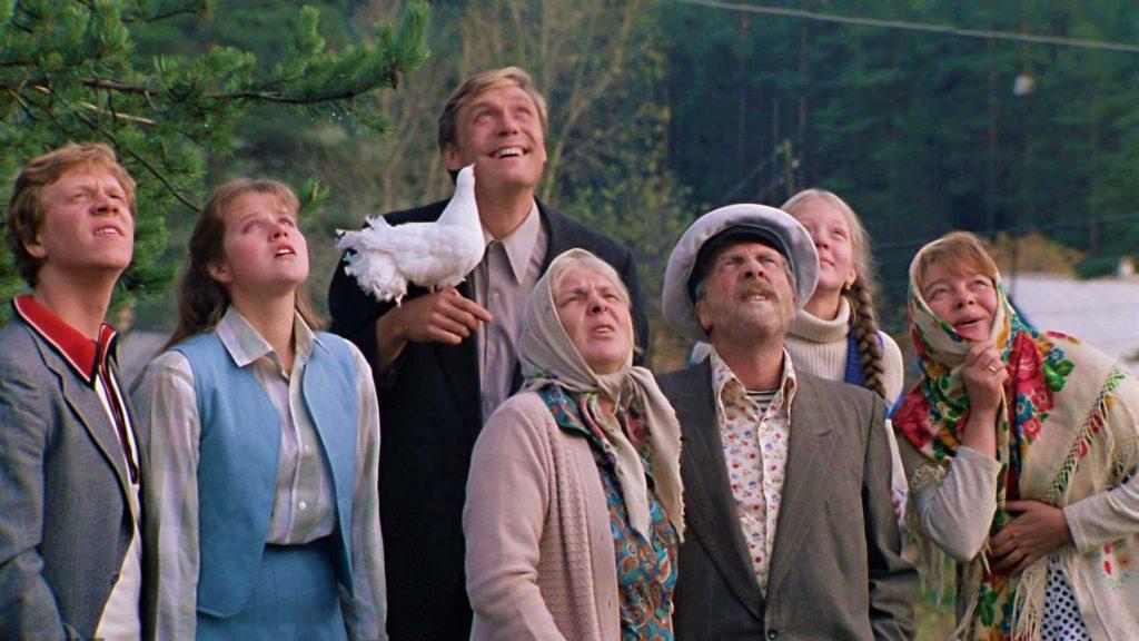 Фильм любовь и голуби в Таганском парке