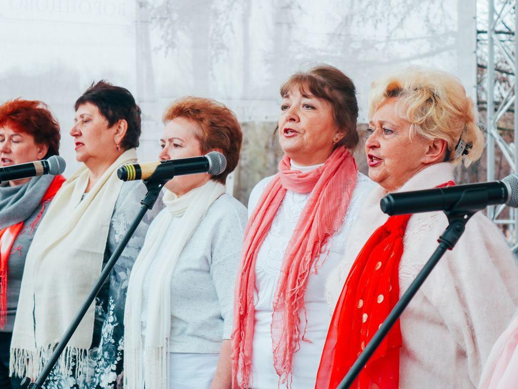Праздник в Воронцовском парке