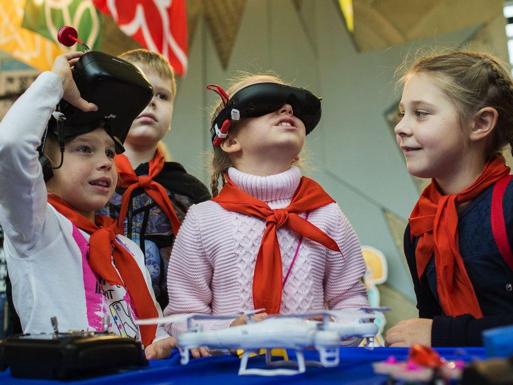 Большая игротека во Дворце пионеров 2 - 4 ноября
