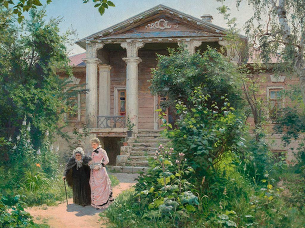 Выставка Василия Поленова в Москве
