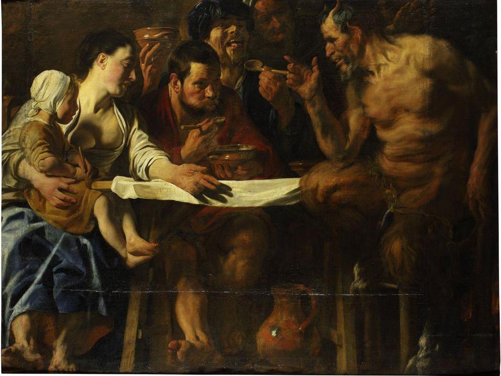 Картины Якоба Йорданса на выставке в Пушкинском