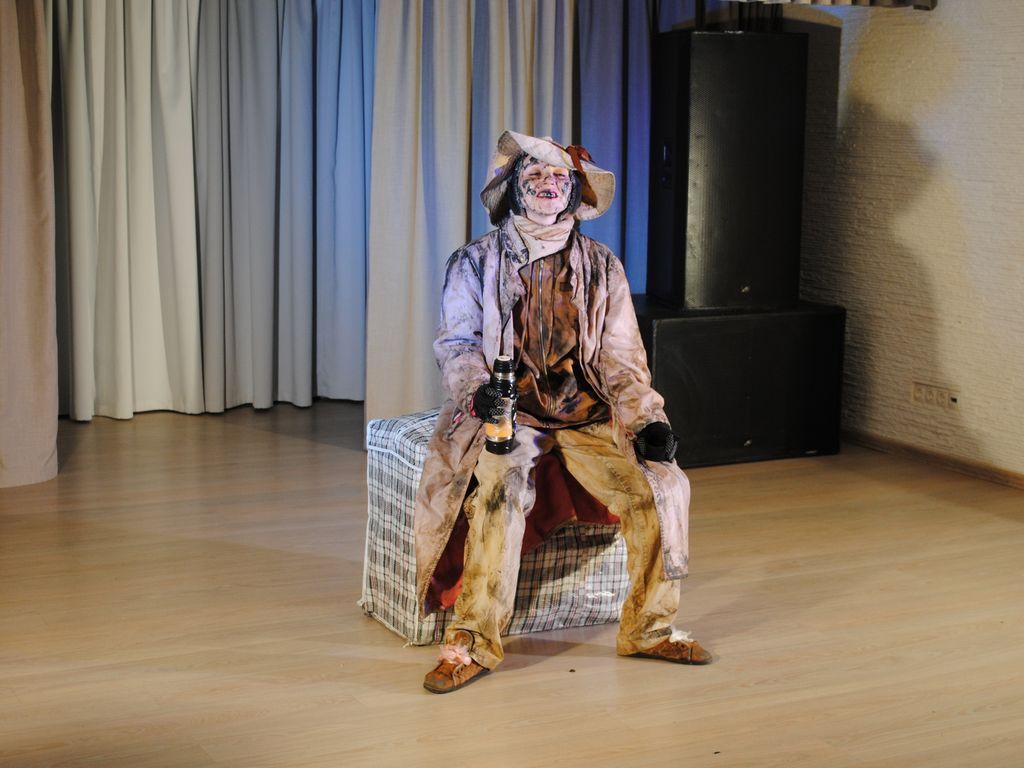 Моноспектакль Счастливая куртизанка в Таганском парке