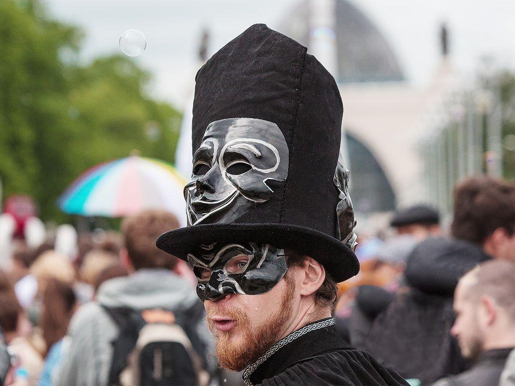 Хэллоуин в Москве
