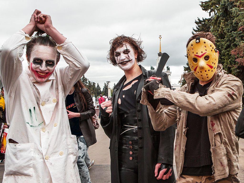 Хэллоуин на Главной выставке страны