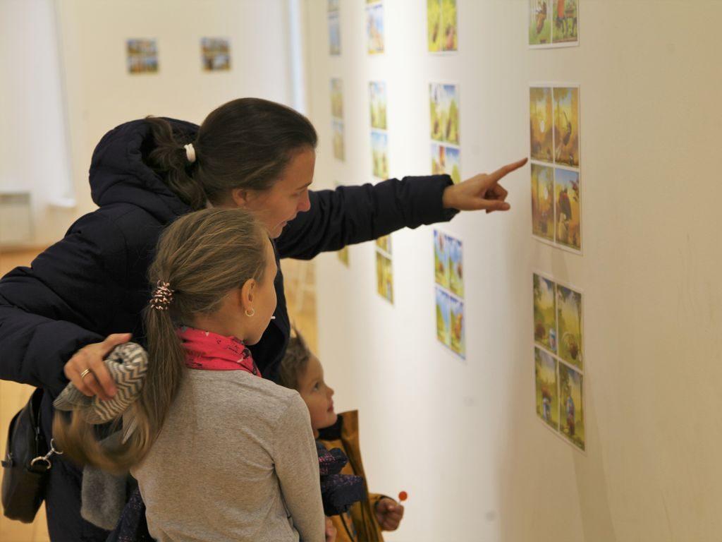 Выставка российских комиксов в Измайловском парке