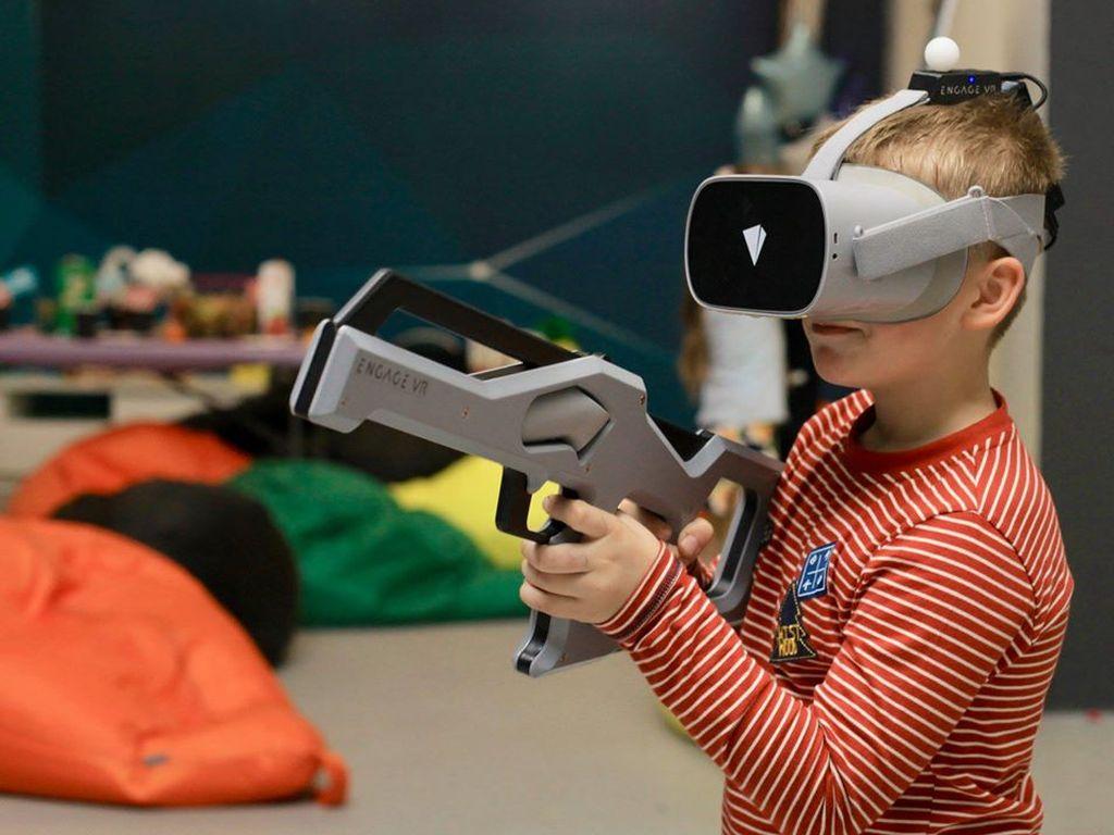Игры для детей в Engage VR