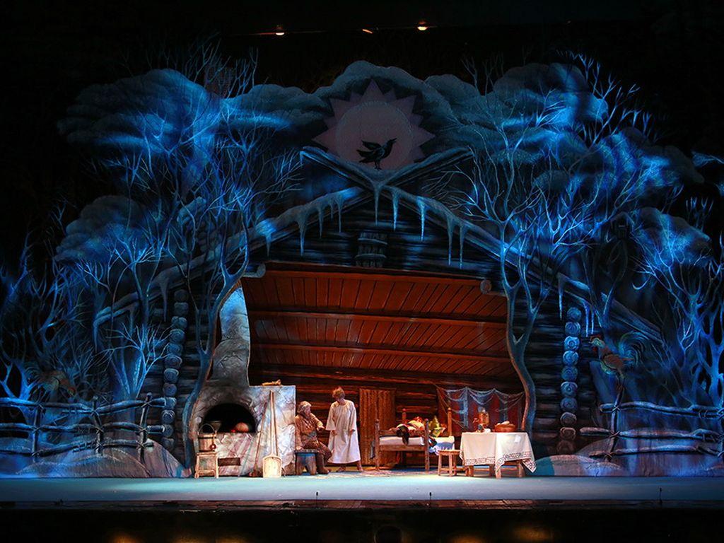 Спектакль Морозко в Детском музыкальном театре имени Н. И. Сац