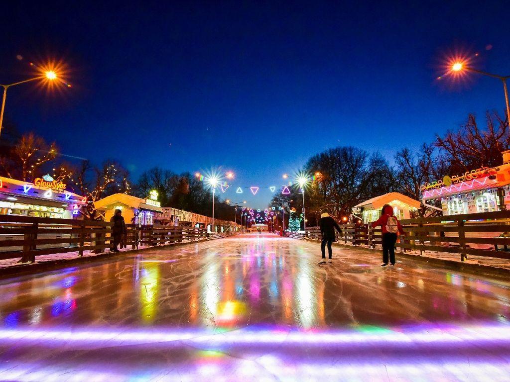 Зимний сезон в парках Москвы 2019-2020