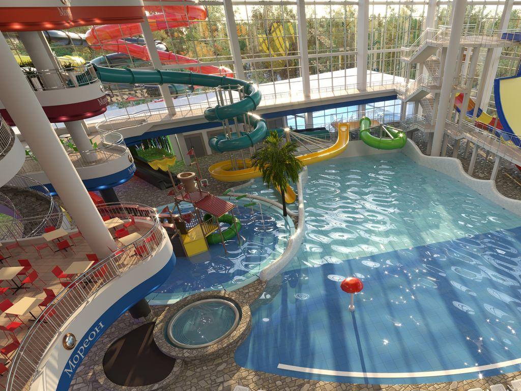 Выходные в аквакомплексе Мореон