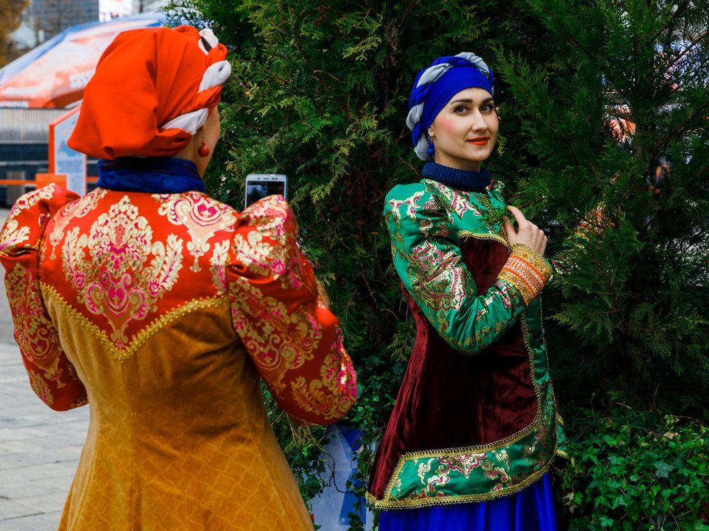 Фотоконкурс на ВДНХ в День народного единства