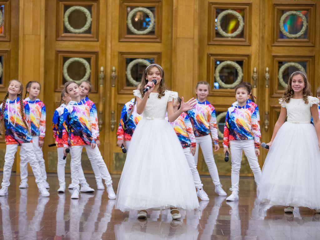 Выступление детей на фестивале  Журавли Победы