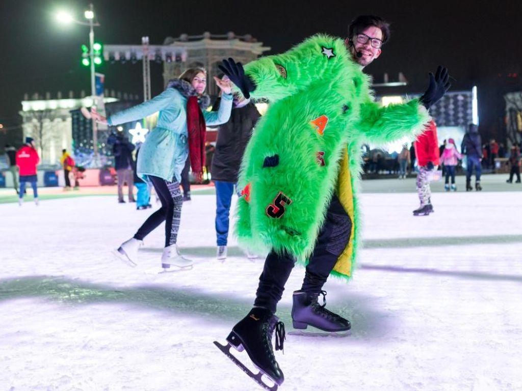 Карнавал на Главном катке страны