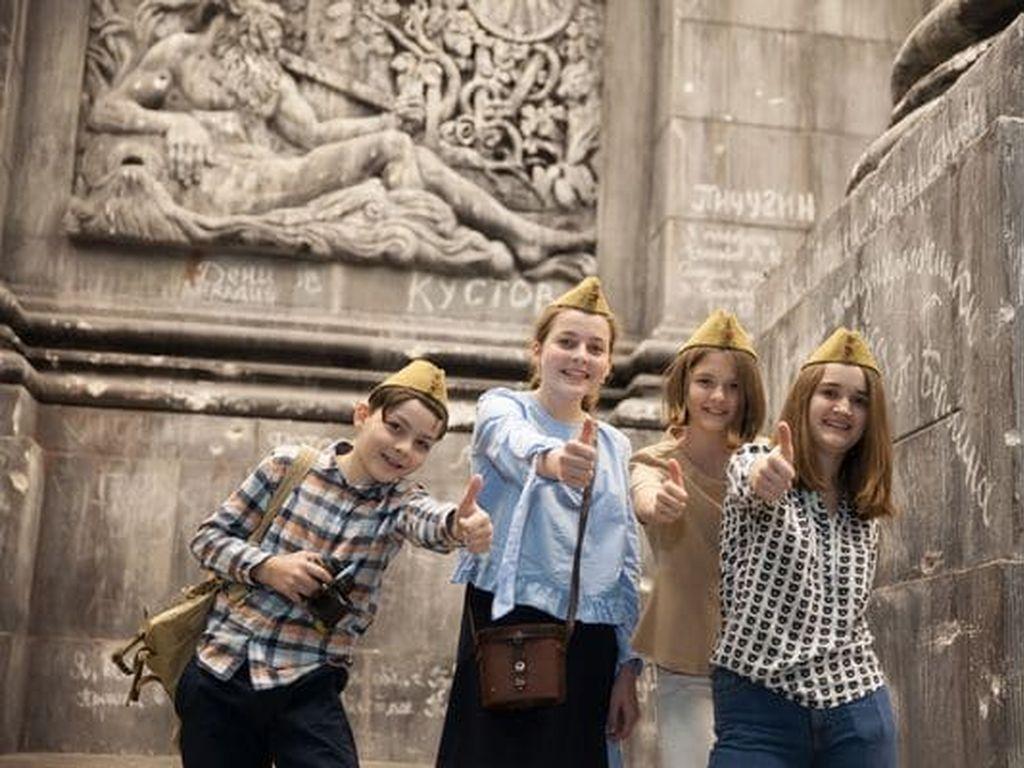 Новогодний квест в музее Победы