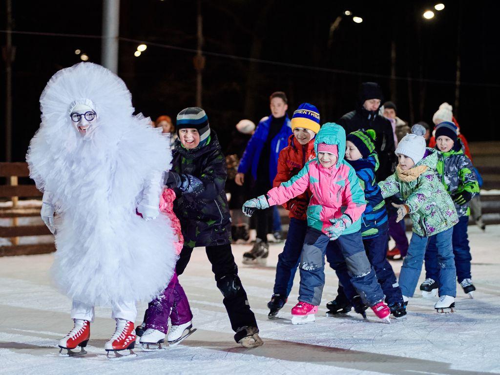 Открытие зимнего сезона 2019 в Измайловском Парке