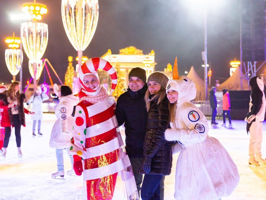 Зима на ВДНХ: развлечения для всей семьи