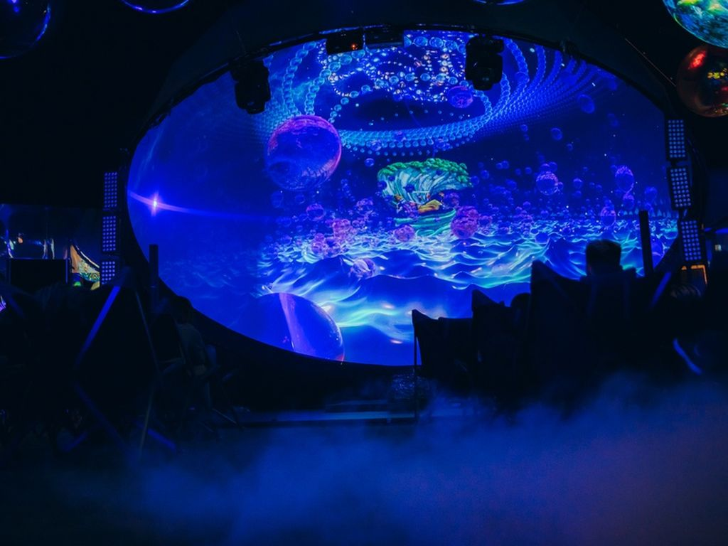 Иммерсивная выставка Mystic Universe в Москве 28-29 декабря