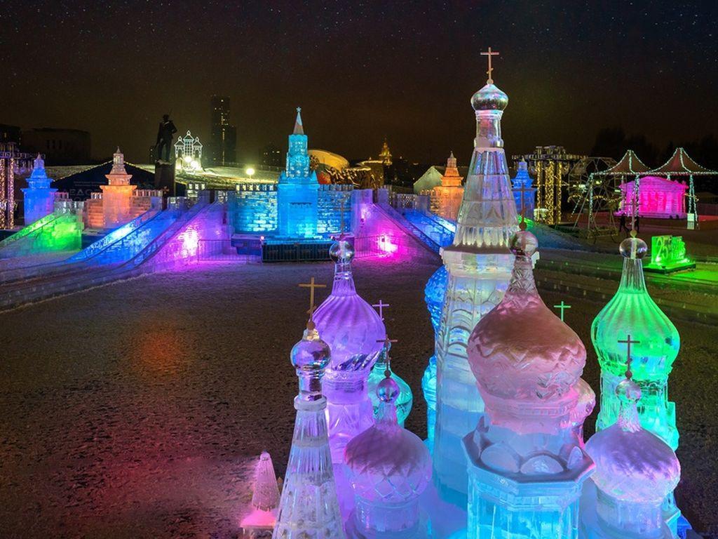Юбилейный V Новогодний фестиваль Александра Ковтунца Ледовая Москва. В кругу семьи