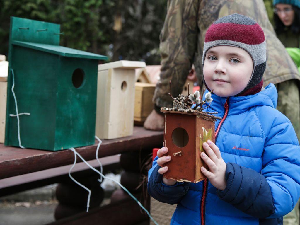 День волонтера в парках Москвы