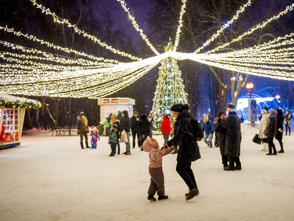 Фестиваль Путешествие в Рождество в Измайловском Парке