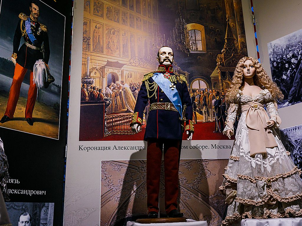 Николая II в Музее кукол на ВДНХ