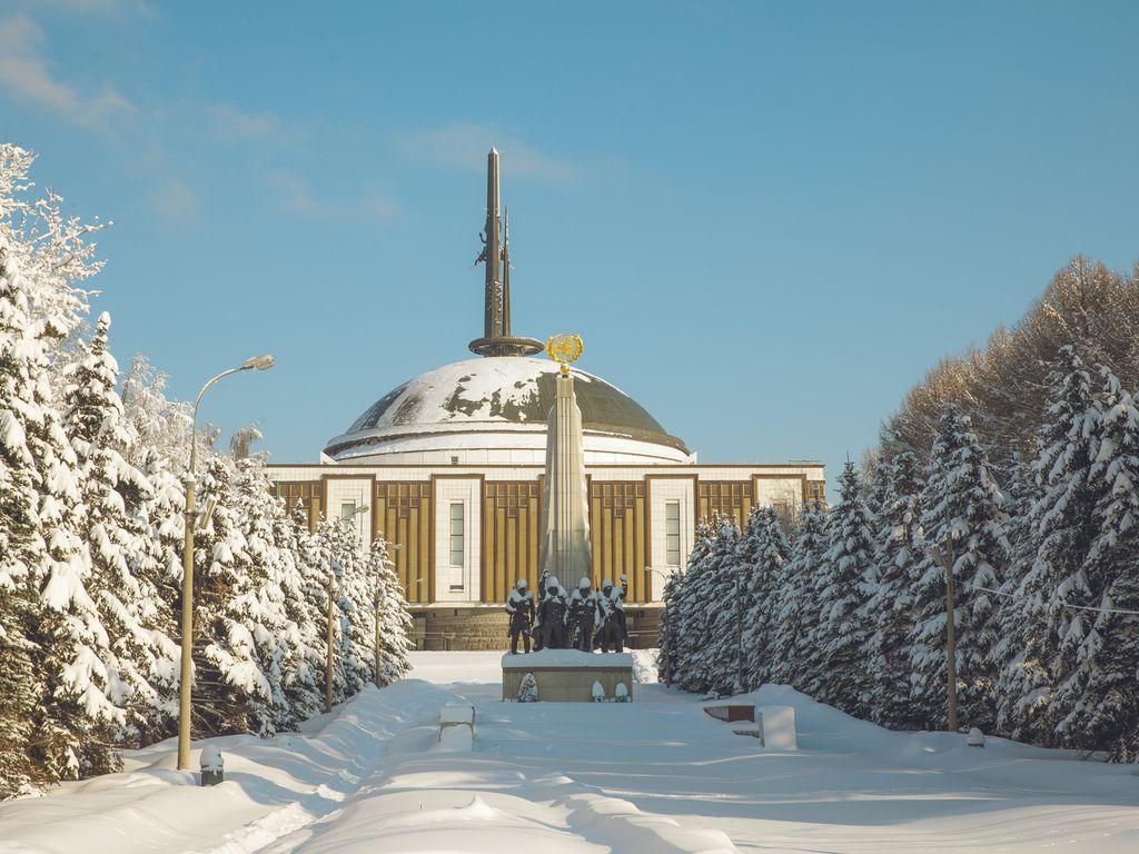 Новогодние праздники в музее Победы