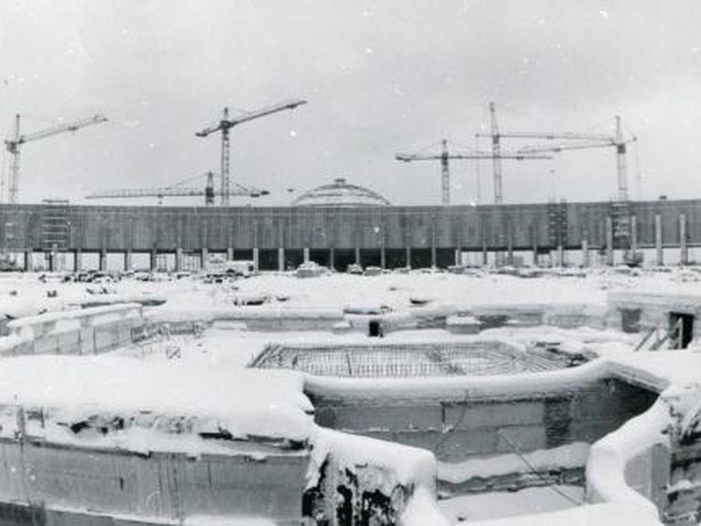 Строительство Музея Победы