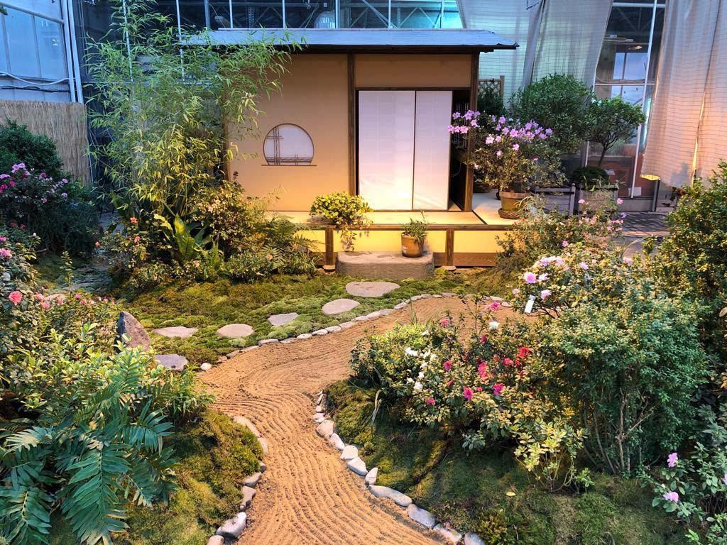 Японский домик в Ботаническом саду
