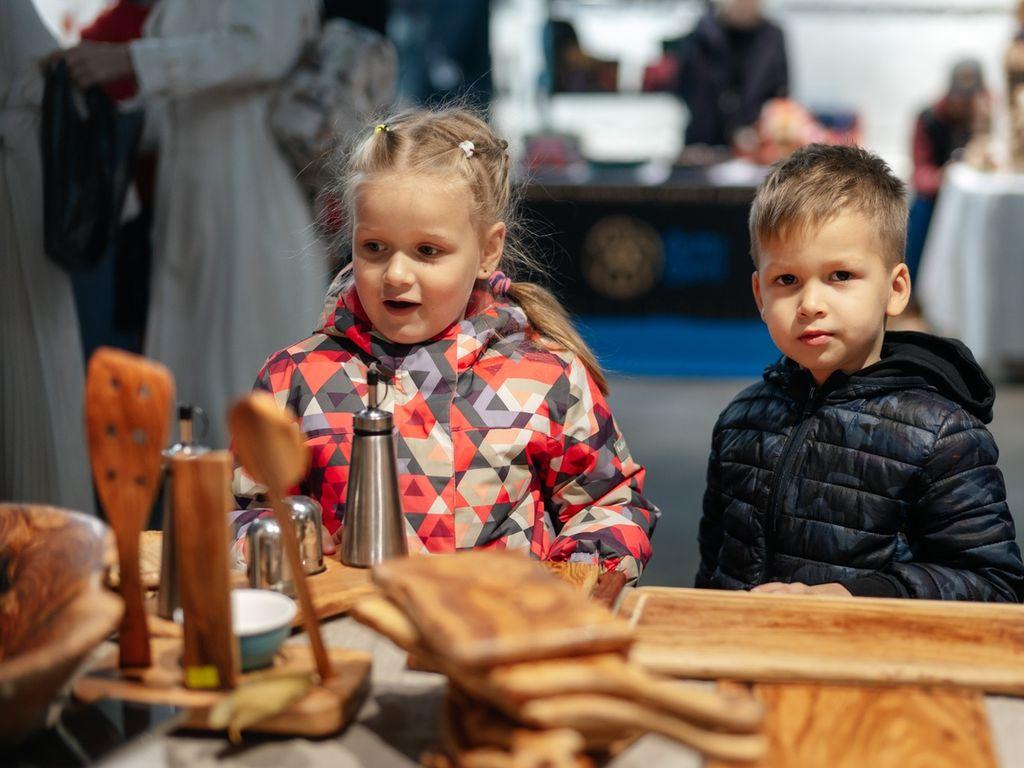 Развлечения для детей на Новогодней ярмарке Happy Market