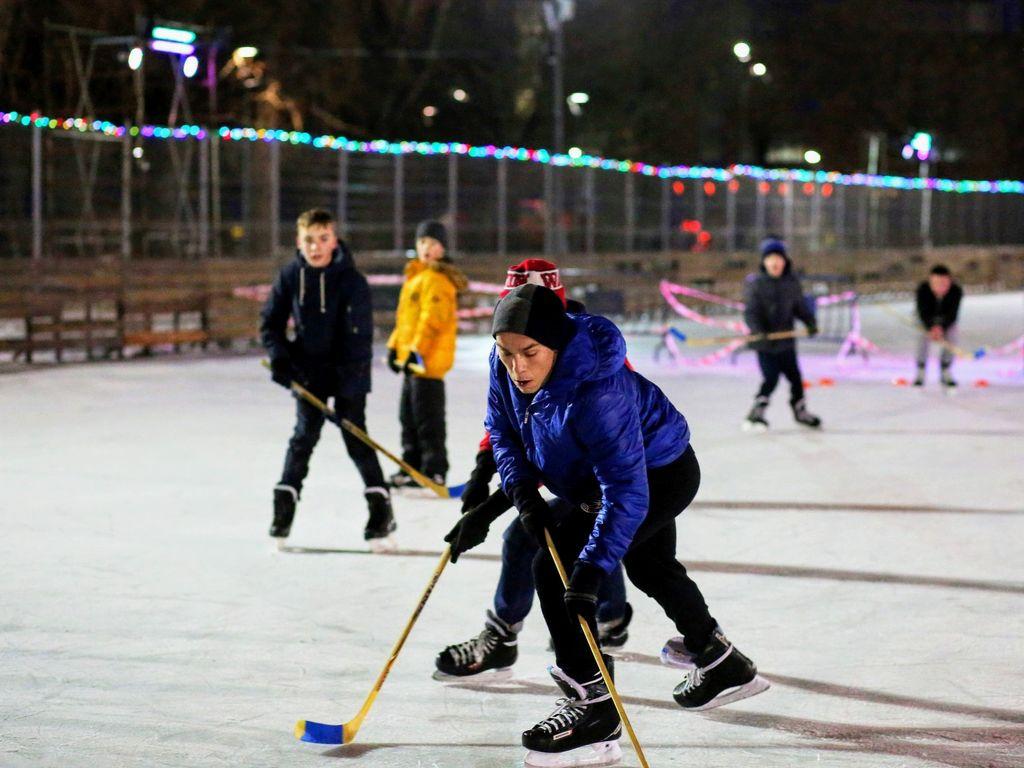 Турнир Московский хоккей в Таганском парке
