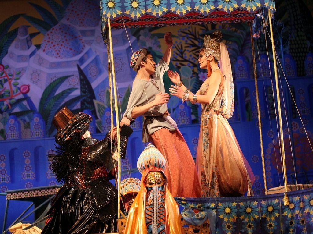 Спектакль Волшебная лампа Аладдина в Театриуме на Серпуховке