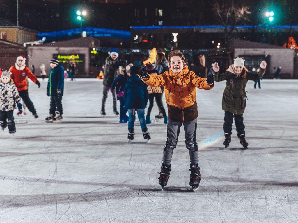 DJ-вечеринка на льду