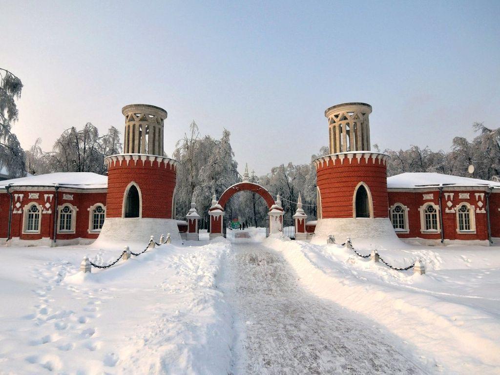 Крещенские купания в парке «Усадьба Воронцово»