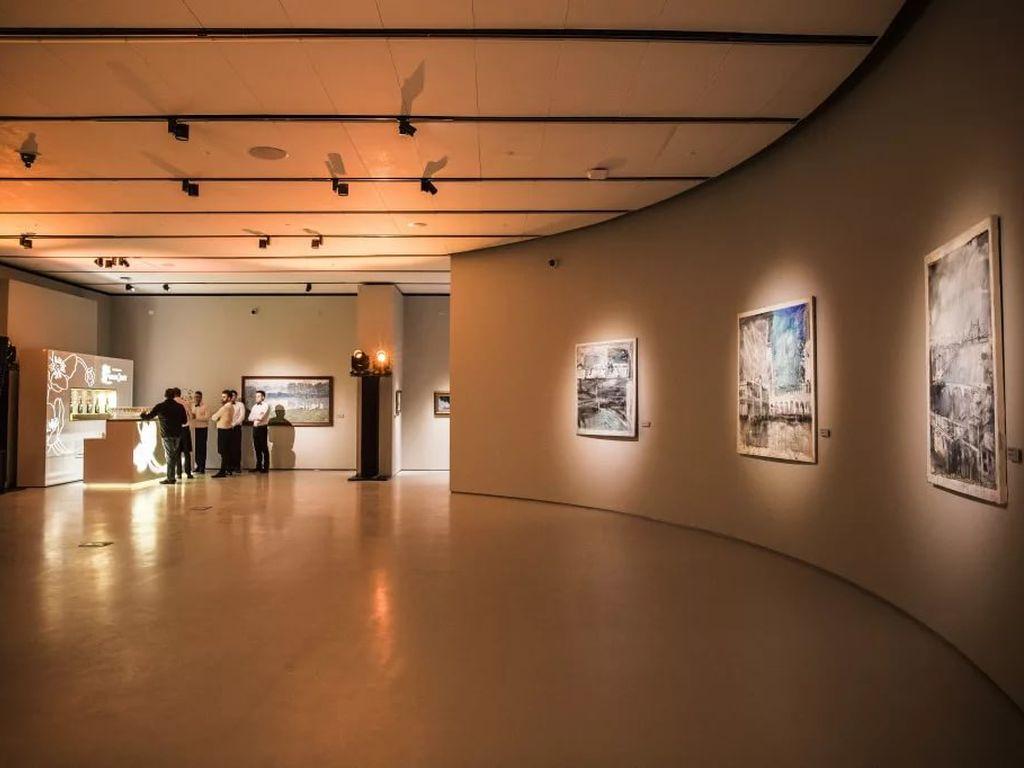 Полотна в Музее русского импрессионизма